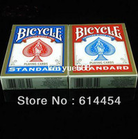 bicycle playing cards - Original Genuine Bicycle Poker Red and Bule New Version Standard Playing Card