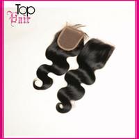 Cheap Brazilian Hair Silk Base Closures Best Brazilian Body Wave Lace Closure