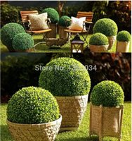 artificial boxwood ball - 2 pc CM ARTIFICIAL BALL TREE BOXWOOD TOPIARY BALL OUT IN DOOR FAUX BUXUS BALLS HOUSE HOME PARTY OFFICE DECOR Scene
