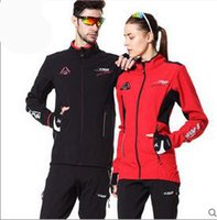 Wholesale Warm Winter Cycling Jacket Casual Outdoor Bike Coat Windproof Cycling Clothes Men And Women Windproof Waterproof Riding Pants Colors