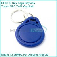 arduino android - pieces RFID IC Key Tags Keyfobs Token NFC TAG Keychain MHz For Arduino Android
