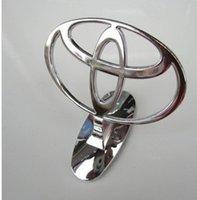 Wholesale Car Bonnet Emblem Badges for Toyota Front Hood Metal Logo Luxury