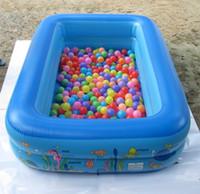 Inflable del Agua de la Piscina de los Niños Pequeños Castillo Inflable del Juego de los Niños de Baño de la Piscina de Natación, Piscinas Con Bomba de Aire Y Vuelta 3in1 A8
