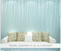 Wholesale DIY European Living Room Wallpaper Bedroom Sofa TV Backgroumd of Wall Paper Roll M Non woven Paper free shiping