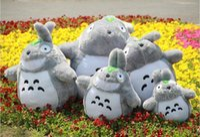 free stuff - 2015 Hot Sale cm cm cm cm Famous Cartoon Totoro Plush Toys Smiling Soft Stuffed Toys High Quality Dolls MYF20