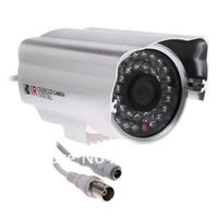 Wholesale Guaranteed New IR Infrared CCTV Security Surveillance Camera CCD Color LED Night View PAL
