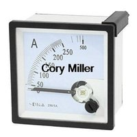 Digital Only AC 0-250A AC 0-250A Fine Tuning Square Dial Panel Analog Ampere Meter Amperemeter order<$18no track
