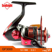 Cheap SeaKnight 2014 Hot Sale GF3000 12+1BB 3000 Series High Quality Spinning Fishing Reel Fish Wheel Freshwater Saltwater