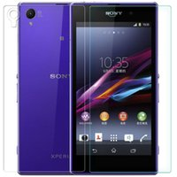 Wholesale Premium Tempered Glass Screen Protector Film For sony Xperia Z1 L39H and Back Side Ultra Thin pc