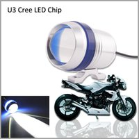 Wholesale 2pcs High Lumens lm Cree XML U3 Cree LED Chip Car LED Car External Light DRL