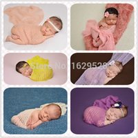 baby prop shop - New Arrival Newborn Baby Photo Prop Photography Mohair Wrap cmx80cm free shopping A B C
