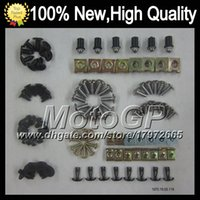 Wholesale Fairing bolts full screw kit For KAWASAKI NINJA ZX R R ZX R ZX6R ZX636 ZX G119 Body Nut Nuts bolt screws