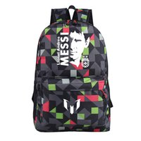 Wholesale Be the difference lionel messi kids backpack men s Backpacks blue school bags women bag for sports football