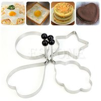 Wholesale Pc Stainless Steel Kitchen Ring Cooking Shaper Pancake Fried Egg Mould Mold