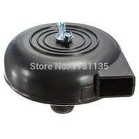 air compressor mufflers - 2pcs Black Plastic Round mm Male Threaded Exhaust Muffler Filter Silencer for Air Compressor