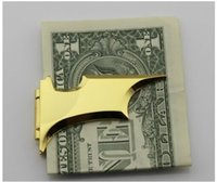 Wholesale batman money clip gold with boxed