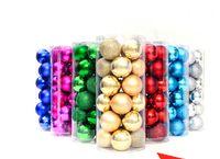 plastic christmas tree ornaments - 2015 NEW cm Chirstmas Tree Decoration Plastic Balls tube cm mix color order