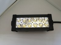 Wholesale 36w LED light bar inch for off road vehicles SUV ATV engineering vehicles