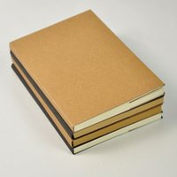 Wholesale New Arrival South Korean models stationery A5 kraft cover sketch book drawing blank page notebook notepad