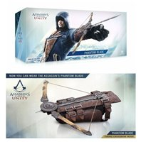 Wholesale New Arrival Assassins Creed Unity Arno Hidden Blade Edward Kenway The Phantom Blade Cosplay Costume With Box