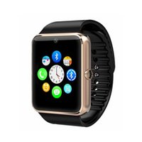 Wholesale 2015 Smartwatch gt08 Bluetooth Smart Watch Phones Support GSM GB TF Card Touch Screen smartwatch Bluetooth Watches