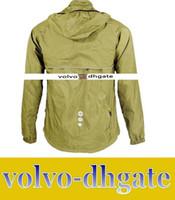 Wholesale LAI1697 US Stock Santic Men Biking Jersey Bicycle Windproof Coat Cycling Clothing Waterproof Jacket S XL