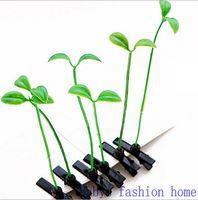 bean bag china - 2015 Small bean sprout hairpin simulation plants Show MOE artifact The grass hairpin bag hair clips children hair clips BFH172