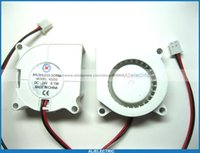 Wholesale 4 Brushless DC Cooling Blower Fan s V x20mm Wires White