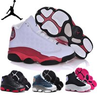 kids shoes cheap - Nike Air Jordan Xiii Retro Children s Shoes Boys Girls Basketball Shoes Kids High Quality Athletic Babys Trainers Cheap Size C Y