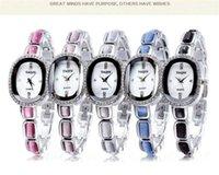 achat en gros de yaqin quartz-Mode Femmes Montres Yaqin Marque de luxe magnifiques diamants robe de filles Ladies Unique Montre Top qualité montre à quartz