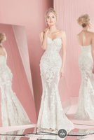 Wholesale Sexy Bridal Gowns Romantic Sweetheart Backless Lace Zuhair Murad Wedding Dresses Mermaid Wedding Gowns