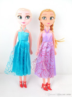 Wholesale Frozen frozen ice surrounding Adventure Queen Princess ElsaAnna dolls opp Paperback