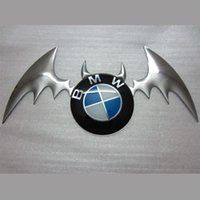 Cheap New 3D Devil Style PET Flexible Emblem Logo car Sticker Paper styling auto film racing decal Free shipping