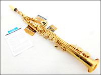Wholesale French Selmer54 B the alto saxophone instruments electrophoresis gold professional play