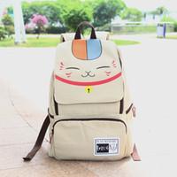 Wholesale NEW Natsume Yuujinchou backpack bag canvas laptop bag Computer Bag schoolbag Students Gifts Top quality