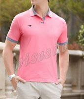 Cheap New 2014 Hot-selling Men's Polo T-Shirts Casual Slim Fit Stylish Short-Sleeve Shirt Cotton T-shirt Size:M-XXL YY242