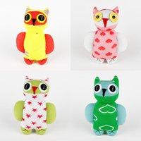 baby boy birthday gifts - Handmade sock monkey owl stuffed animal doll baby toys baby girl boy birthday gift
