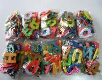 Wholesale 2015 new hot Fridge Magnet Colorful Digital Shape Child Learning Wooden Magnetic Toddler Children s Toys