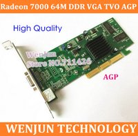 Wholesale Form Factory Brand New ATI Radeon M DDR VGA TVO AGP Graphic Card order lt no track