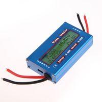 Wholesale Simple DC Power Analyser Watt Volt Amp Meter V V Solar Wind Analyzer High Quality MTY3
