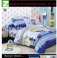 Wholesale China Bed Sheet home Textile Bedding Set For kid