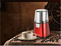 automatic coffee grinder - Luxury fashion atmospheric multifunctional automatic stainless steel coffee bean grinder