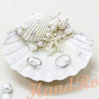 New Handmade ring pillow wedding ring care Korean gift candy shell ...