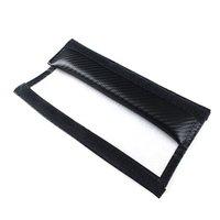 avenger accessories - Interior Accessories Seat Belts Padding DODG E Carbon Fiber Car Seat Belt Shoulders Pad Truck Cover For Ram AVENGER CHARGER