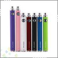 Wholesale Electronic Cigarette Ego Battery EVOD Twist Battery E cigarette Battery Variable Voltage elegant button top quality factory price