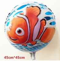 aquarium seal - For frozen balloon inch round aluminum foil clown fish helium balloon aquarium gift self sealing