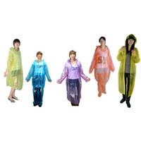 Wholesale 2015 New Disposable Adult Emergency Waterproof Raincoat Hood Poncho Camping Plastic Raincoat Sale OCB WOJ