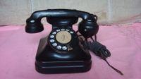 bakelite telephone - Japan old bakelite shell porcelain dial telephone dial telephones have detail