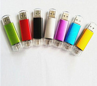 adata storage - 20pcs Epacket hkpost ship pendrives GB GB GB USB Flash Drive drive OTG external storage usb memory stick for Smart Cellphone