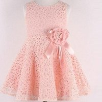 girls party dresses - 2015 Fashional Big Girls Lace dresses Girl s Summer Princess Dresses Party Dresses for Girls Chidren Clothing Flowergirls Wed Korean Style